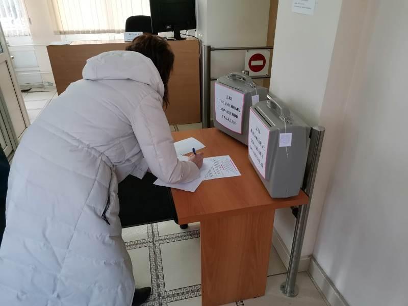 Контейнеры для обращений граждан установили в отделе Нахабино