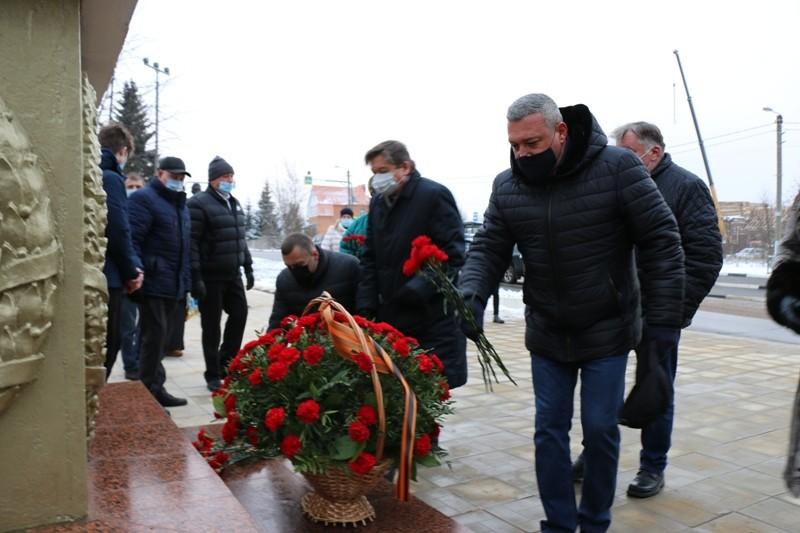 Память о защитниках Москвы почтили в деревне Нефедьево