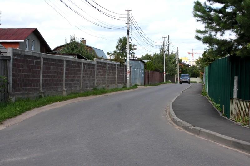 Изменение организации дорожного движения на дорогах Нахабино
