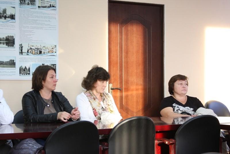 В Нахабино встретились с активом сельских территорий